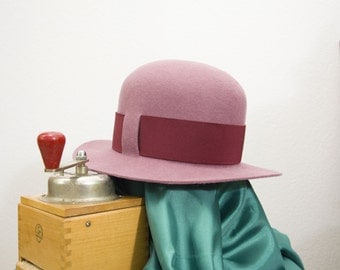 Women's Felt Hat bold elegance