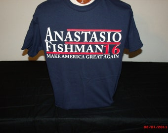 "Phish Shirt ""Trump""parody shirt."