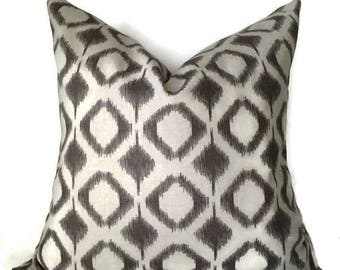 Grey Pillow Covers, Pillows, Decorative pillows, Grey throw pillow, Pillow cover 18x18
