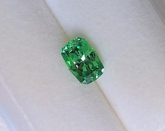 0.63 Carat Neon Green Tsavorite Garnet