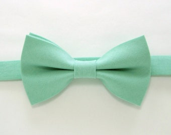 Mint Green bow tie,Easter bow tie,Wedding bow tie for Men,Toddlers ,Boys,baby