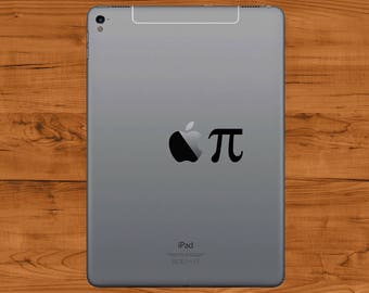 Apple Pi iPad Vinyl Sticker