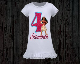 Moana Birthday Shirt - Moana Tank Top Available