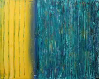 "8""x10"" Original Acrylic Abstract Painting"