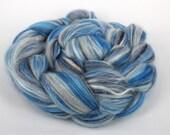 The Thing (Glitter) - Custom Fiber Blend / Merino, Mulberry Silk - 100 grams 3.5 oz