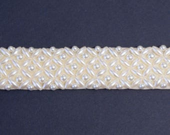 Pearl Bridal Belt Or Sash - Made To Measure - PEARLY PAIGE