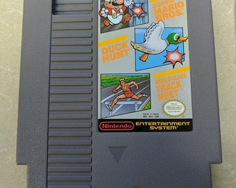 Super Mario/Duck hunt/Track and field NES Nintendo