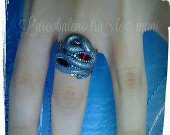 Anello serpente Snake ring