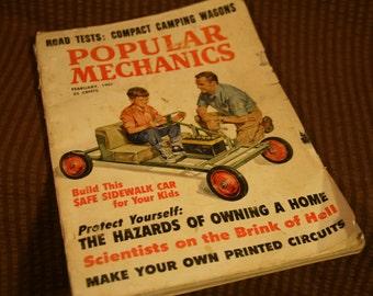 MECHANICS MAGAZINE Popular Mechanics (1961) vintage magazine