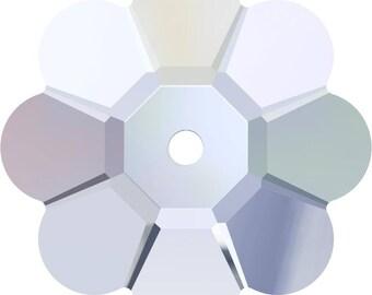 Swarovski Crystal - 3700 - Marguerite Lochrose - Crystal 6mm, 8mm, 10mm, 12mm, 14mm