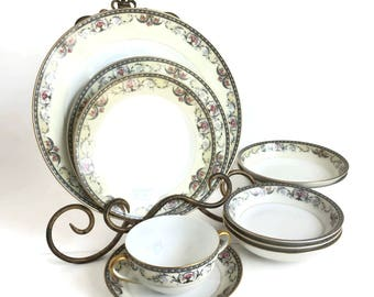 Noritake Mayville China Replacement Pieces 1920-1940 Made in Japan