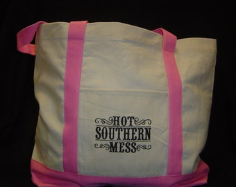 Hot Southern Mess Tote, Tote Bag
