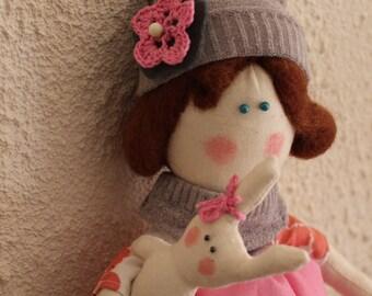 Poupée en tissue (rag doll)