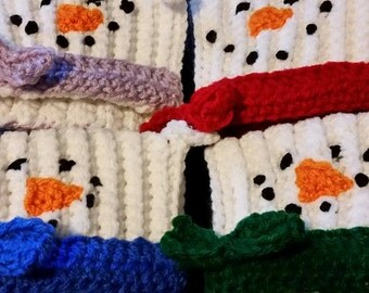 Set of 4 Snowman Mug Hugs