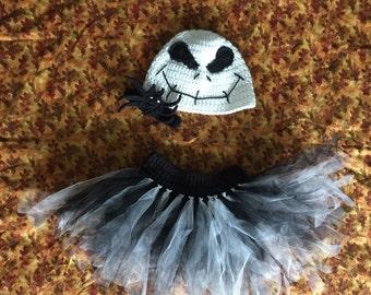 Nightmare before christmas jack skellington costume tutu cosplay