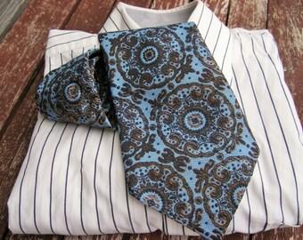 Vintage Necktie, Neckties Mens Accessories Mens Necktie, FREE SHIPPING, Mens tie, Pattern  necktie, Ties, Vintage Mens neckties, Retro tie