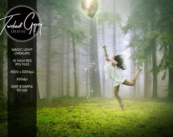 Magical Light Overlays - Dynamic lighting for your images!