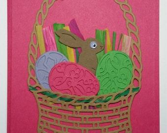 Easter Basket Card Kit