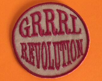 GRRRL Revolution Patch