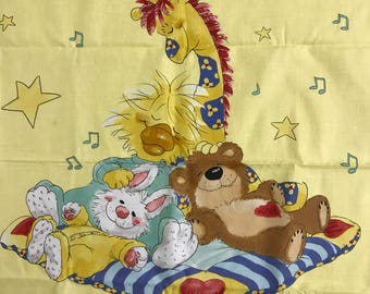 Little Suzys Zoo Fabric Panel