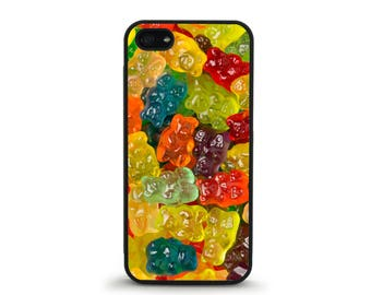 Gummy Bear Phone Case - iPhone 4/4s, 5/5S, 5C, 5SE, 6/6 plus, 7/7 Plus, Samsung Galaxy S4, S5, S6/edge/edge plus, S7/S7E