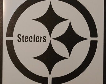 Pittsburgh Steelers Football Custom Stencil FAST FREE SHIPPING