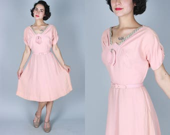 1940s Cocktail Dress Etsy