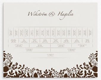 Family Tree, Family Trees, 5 Generations Tree, Family Tree Print, Personalized, Family Gift, Genealogy Chart, Ancestry Chart, Genealogy Tree