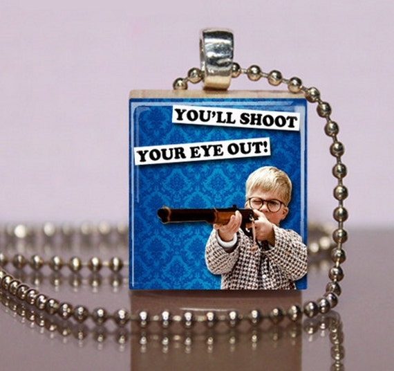 You'll Shoot Your Eye Out Christmas Story Scrabble by ScrabbleLady