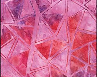 Artisan Batik - TRIANGLE MOSAIC ab-15540-367 Punch pink