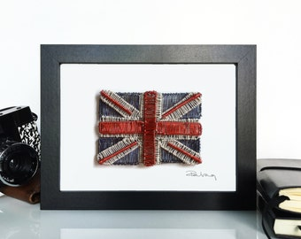 United Kingdom Flag Wire Art
