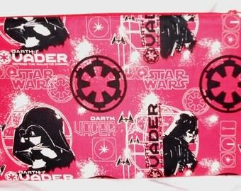 Star Wars Vader XL Pencil Case Red/Black - Lined  #1 FREE POSTAGE