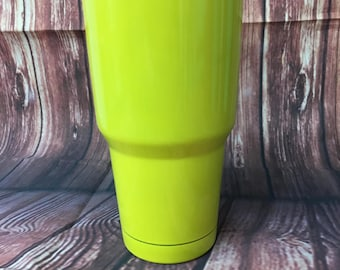 Yellow-green 30 oz Tumbler