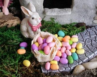 12 Fairy garden Easter eggs, dollhouse Easter eggs, miniature egg hunt, Fairy Easter, dollhouse Easter, barbie easter, miniature eggs