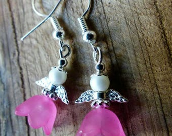 Little angels pink, silver and matte white