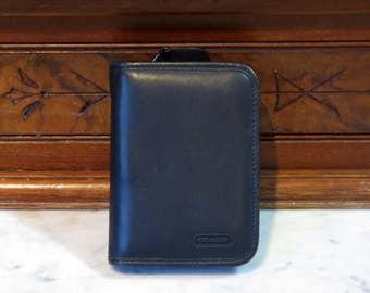 Coach Classic PDA Case In Black Calfskin Leather Style No. 8212- VGC