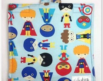 Super Hero Insulated Cover Bag Feeding Tube Pump