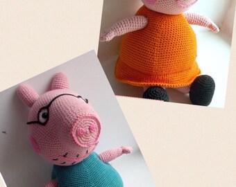 Amigurumi Tutorial Peppa Pig : Best peppa pig images peppa pig little pigs and