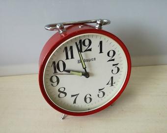 Balancere red alarm clock