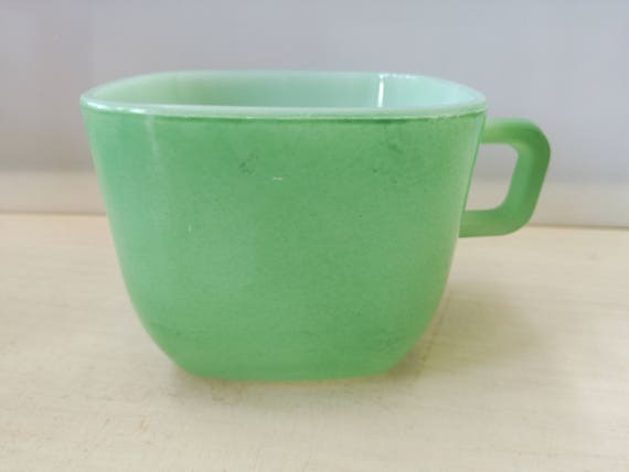 Opale France mugs, green