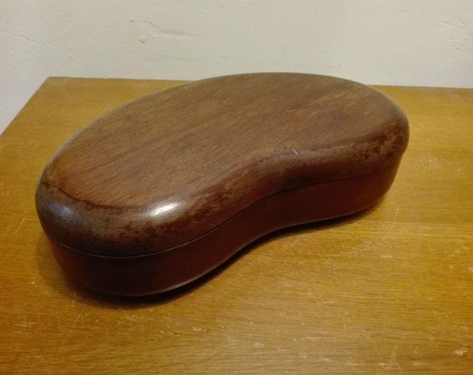 Gibbard solid mahogany kidney box