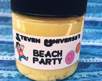 Steven Universe's Beach Party Pina Colada Scented Whipped Sugar Scrub