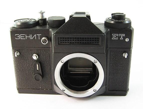 Zenit Et Vintage Russian 35mm Film Slr Camera Body