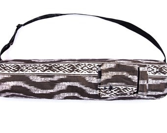 Java Stripe Yoga Mat Bag