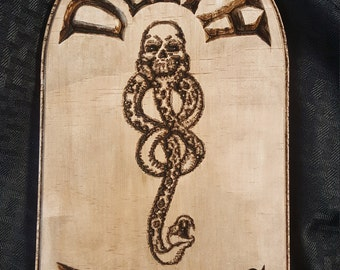 Death Eaters Wall Plaque