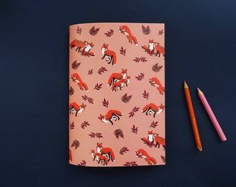 Foxes notebook / Note book Foxes