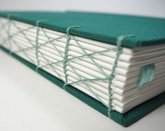 Large Journal (A4). Opens Flat! Perfect as a Sketchbook, Large Notebook, Wedding Planner, or Photo Album.