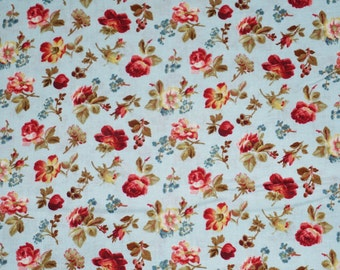 Penelope Petite Rose Cotton Fabric Lakehouse Dry Goods  By the Yard