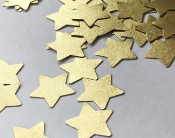50ct Gold Star Confetti
