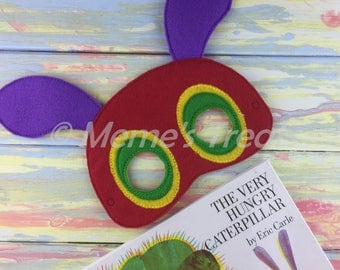 Storybook Felt Mask - Deluxe Felt Mask -- Kids Mask – Costume – Dress-Up -- Halloween -- Pretend Play